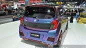 Suzuki Celerio Custom rear three quarter at the 2014 Thailand International Motor Expo