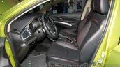 Suzuki SX4 S Cross front seats at 2014 Guangzhou Auto Show