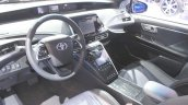 Toyota Mirai dashboard at the 2014 Los Angeles Auto Show