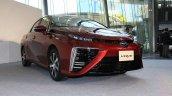 Toyota Mirai front quarters