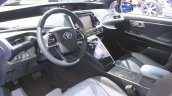 Toyota Mirai interior at the 2014 Los Angeles Auto Show
