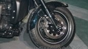 Triumph Rocket X Special Edition front disc brake at EICMA 2014