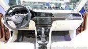 VW Lamando dashboard at Guangzhou Auto Show 2014
