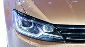 VW Lamando headlight at Guangzhou Auto Show 2014