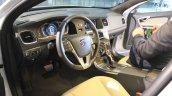 Volvo Drive Me autonomous vehicle dashboard at the 2014 Los Angeles Auto Show