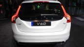 Volvo Drive Me autonomous vehicle rear at the 2014 Los Angeles Auto Show