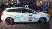 Volvo Drive Me autonomous vehicle side at the 2014 Los Angeles Auto Show