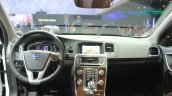 Volvo V60 Cross Country interior at the 2014 Los Angeles Auto Show