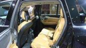 Volvo XC90 T8 rear seat at the 2014 LA Auto Show