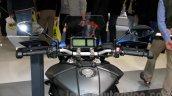 Yamaha MT-09 Tracer handlebar or Yamaha FJ-09 handlebar at the EICMA 2014