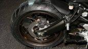 Yamaha MT-09 Tracer rear wheel or Yamaha FJ-09 rear wheel at the EICMA 2014