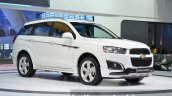 2014 Chevrolet Captiva Sport Edition at the 2014 Thailand Motor Expo white