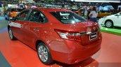 2014 Toyota Vios Rear Three Quarters at the 2014 Thailand Motor Show
