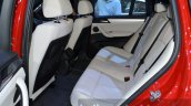 2015 BMW X4 rear seats at the 2014 Thailand Motor Expo