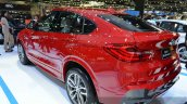 2015 BMW X4 rear three quarters at the 2014 Thailand Motor Expo