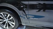 2015 BMW X6 badging at the 2014 Thailand International Motor Expo