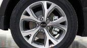 2015 Kia KX3 production spied alloy wheel design