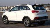 2015 Kia KX3 production spied front rear quarter