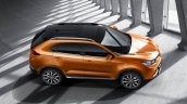 2015 MG GTS SUV upper side official