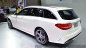 2015 Mercedes C Class Estate rear left three quarter at 2014 Thailand International Motor Expo