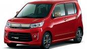 2015 Suzuki Wagon R Stingray front three quarters Japan