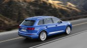 2016 Audi Q7 rear three quarters right