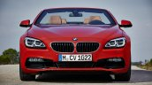 2016 BMW 6 Series Convertible front