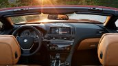 2016 BMW 6 Series Convertible interior
