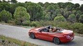 2016 BMW 6 Series Convertible rear three quarter