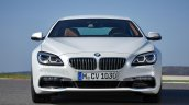 2016 BMW 6 Series Gran Coupe front