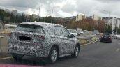 2016 BMW X1 spied rear three quarters