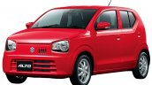 2016 Suzuki Alto Front three quarter Japan