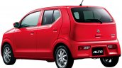 2016 Suzuki Alto rear three quarter Japan single colour