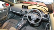 Audi A3 Cabriolet dashboard launched