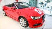 Audi A3 Cabriolet front quarter launched