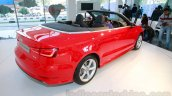 Audi A3 Cabriolet rear quarter launched