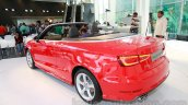 Audi A3 Cabriolet rear quarters launched