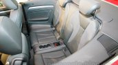 Audi A3 Cabriolet rear seats launched