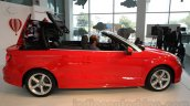 Audi A3 Cabriolet roof coming down launched