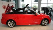 Audi A3 Cabriolet roof mechanism launched