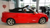 Audi A3 Cabriolet roof retracting launched