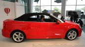 Audi A3 Cabriolet side launched