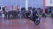 Bajaj Pulsar 200 SS unveiled in Turkey stoppie