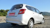 Datsun Go+ Review rear