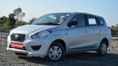 Datsun Go+ front angle Review