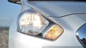 Datsun Go+ headlight on Review