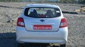 Datsun Go+ rear Review