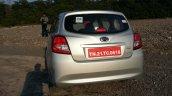 Datsun Go+ rear