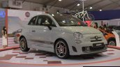 Fiat Abarth 595 Competizione front three quarter at Autocar Performance Show 2014