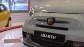 Fiat Abarth 595 Competizione logo at Autocar Performance Show 2014